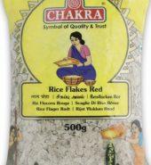 CHAKRA RED RICE FLAKES / POHA (500G)